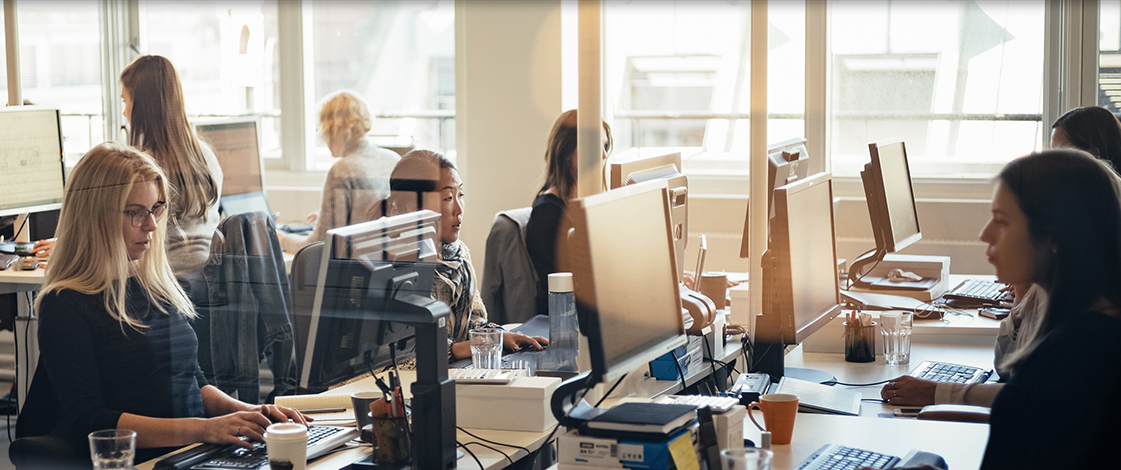 I Starcom er vi opptatt av samspillet mellom mennesker, teknologi, data og kreativitet