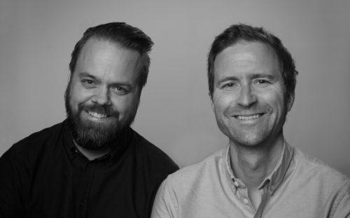 Christian Raae og Peder Mittet