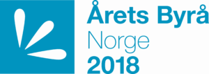 Logo Årets Byrå 2018 - Starcom vinner i kategorien Mediebyrå 50MNOK+